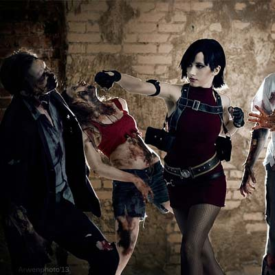 Ada Wong fights for life in Darkside Chronicles