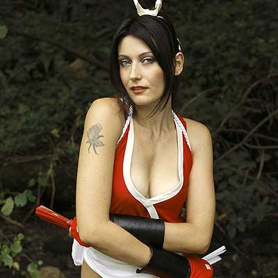 Mai Shiranui cosplay by Pamela Colnaghi