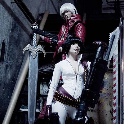 Lady is a human Devil Hunter in  Devil May Cry
