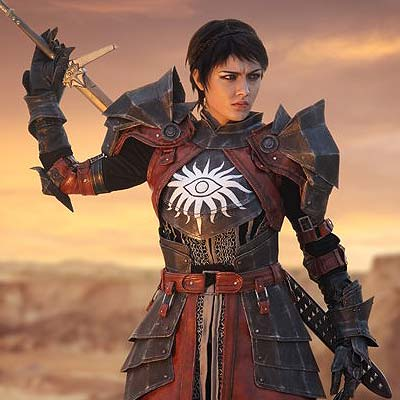 Cassandra Pentaghast in Dragon Age Inquisition