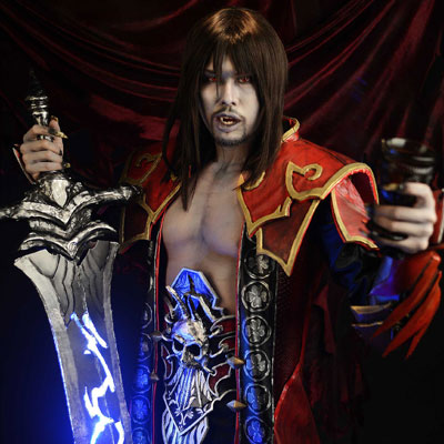 Gabriel vampire in Castlevania Lords of Shadow