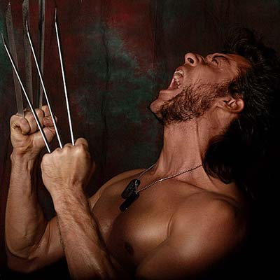 X-Men Wolverine cosplay