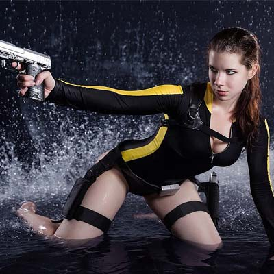 Lara Croft's swimsuit in Tomb Raider Underworld