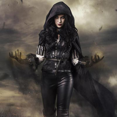 Sorceress Yennefer of Vengerberg