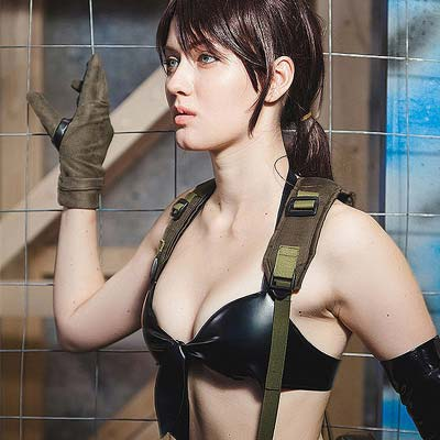Quiet From Metal Gear Solid V Video Game