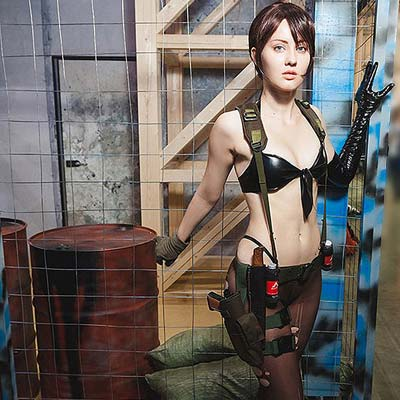 Quiet In Metal Gear Solid V Designed For Cosplay