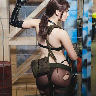 Quiet B-Side from Metal Gear Solid V video game