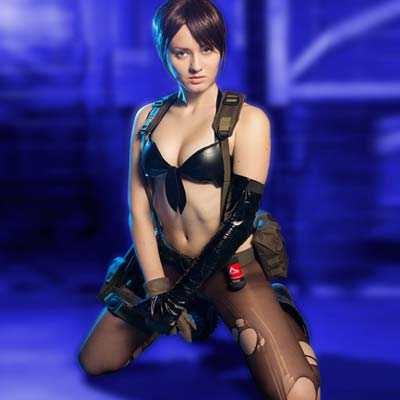 Metal Gear Solid 5 The Phantom Pain's sexy Quiet