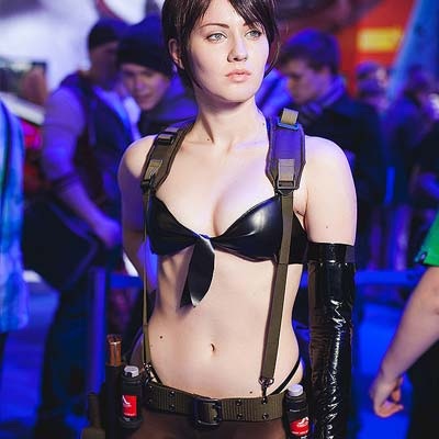 Quiet is a a female sniper assassin in MGS V