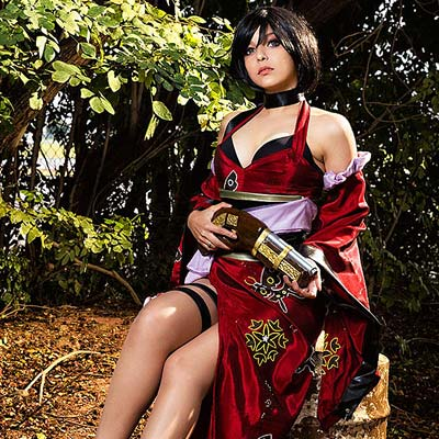 Ada Wong's official red outfit in Onimusha