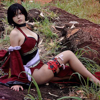 Shermie Cosplay is Ada Wong from Resident Evil