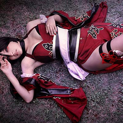 Shermie is Ada Wong in Onimusha Soul