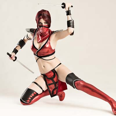Skarlet was known simply as The Lady in Red