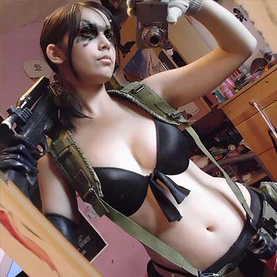Quiet The Silent Female Sniper From Mgs V Cosplay My Game