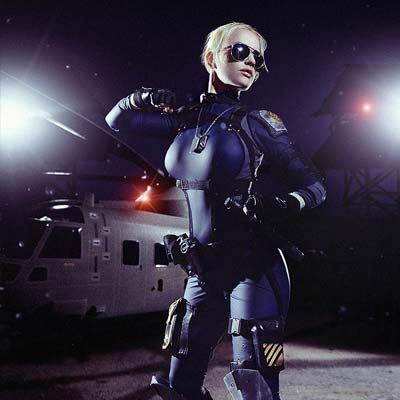 Cassie Cage leads a new generation in MK X cosplay