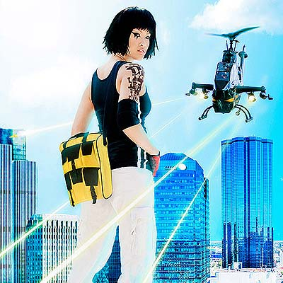 Faith Connors cosplay from Mirror's Edge