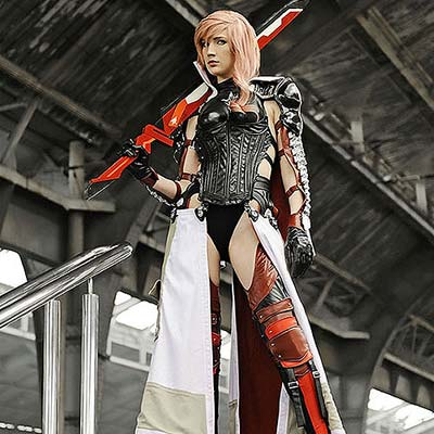 Final Fantasy XIII Lightning Returns cosplay