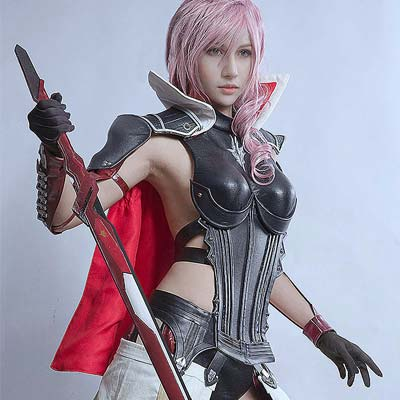 Lightning Returns in Final Fantasy XIII cosplay
