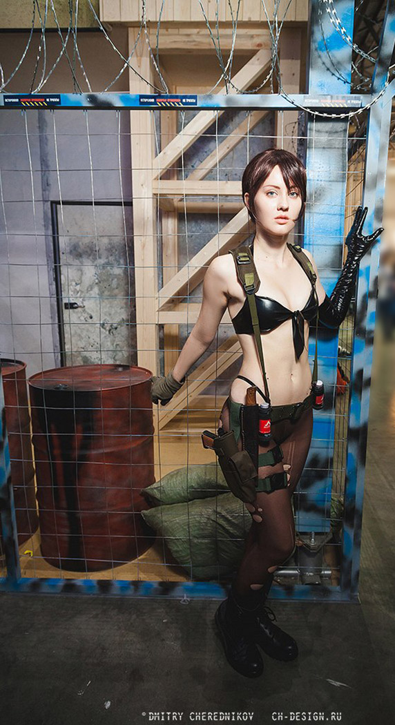 Quiet in Metal Gear V The Phantom Pain Video Game Cosplay