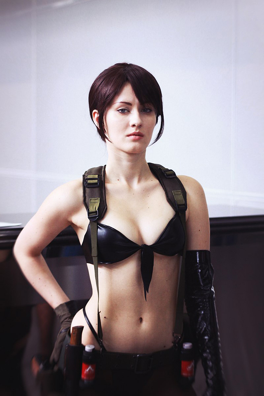 Oniksiya Sofinikum Is Quiet In Metal Gear Solid V Cosplay My Game