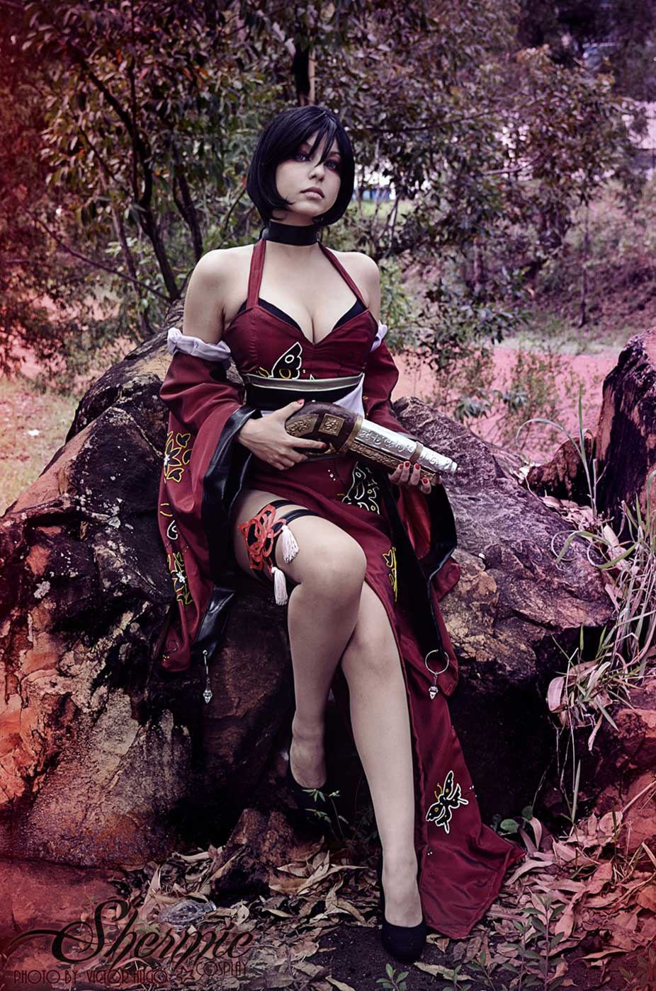 1324643dcc The sexy spy Ada Wong by Shermie Cosplay - Cosplay My Game