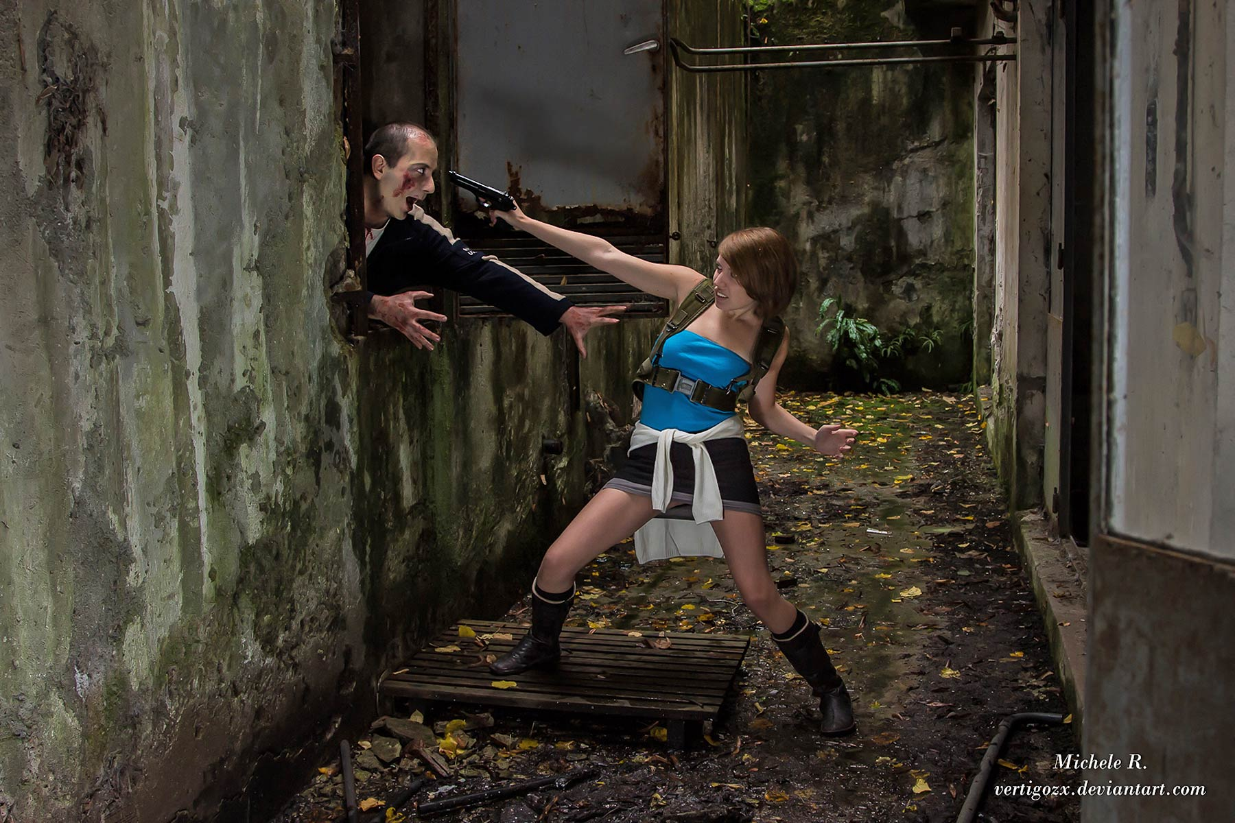 resident evil nemesis video game cosplay cosplay my game