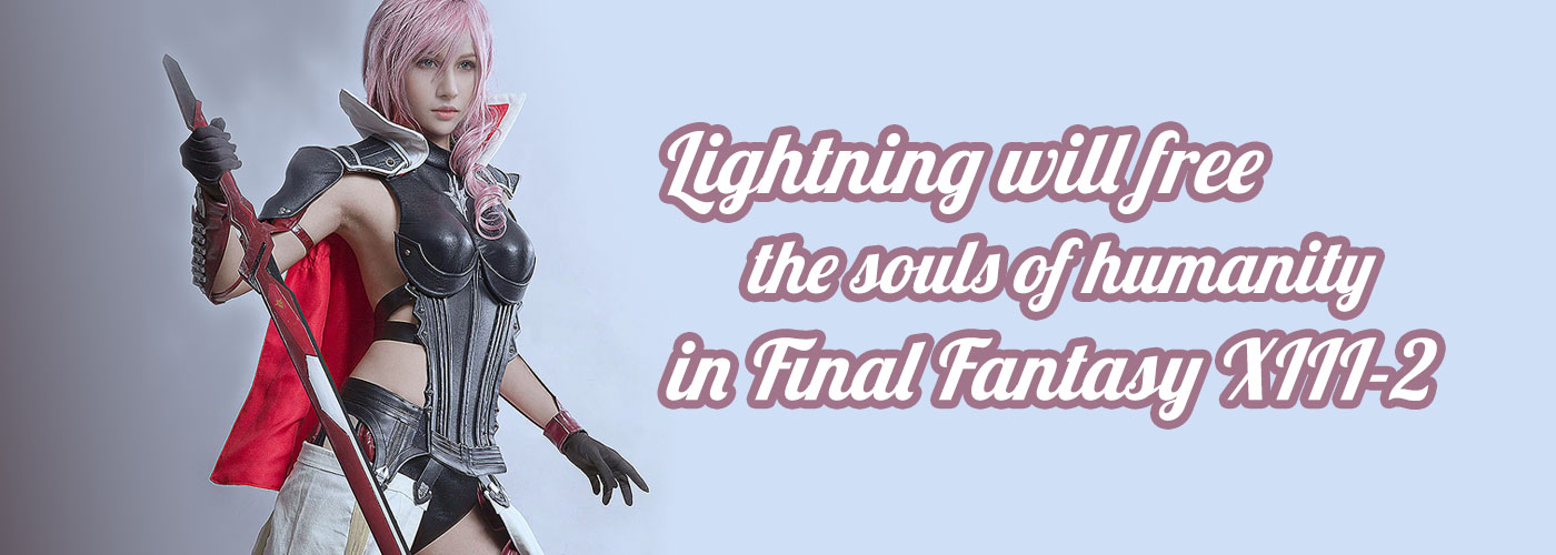 Lightning and the souls of humanity in Final Fantasy XIII-2