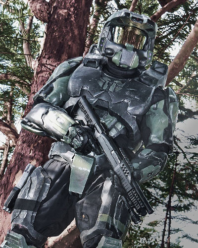 Halo ODST Orbital Drop Shock Troopers video game cosplay