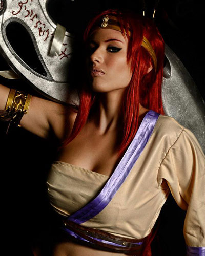 Nariko Heavenly Sword Sony video game cosplay