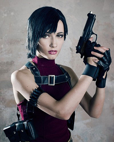 Ada Wong Resident Evil Chronicles video game cosplay