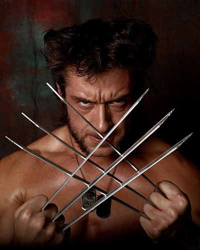 Wolverine and adamantium claws in Marvel X-Men video game cosplay