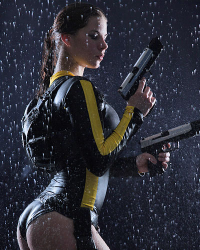 Lara Croft in Tomb Raider Underworld swimsuit Video Game Cosplay