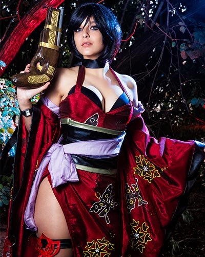 Ada Wong in Capcom's Onimusha Soul Video Game Cosplay