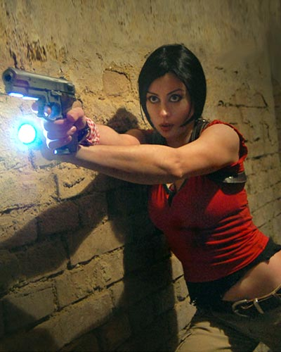 Chloe Frazer from Uncharted: The Nathan Drake Collection video game - Sony Naughty Dog