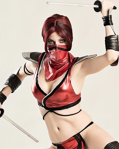Skarlet is a very ferocious opponent composed solely of blood