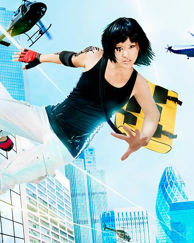 Faith Connors is a runner in Mirror's Edge video game cosplay