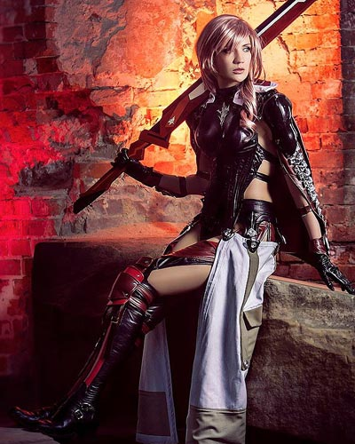 Lightning Returns in Final Fantasy XIII as a savior of souls